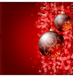 Christmas elegant background vector image
