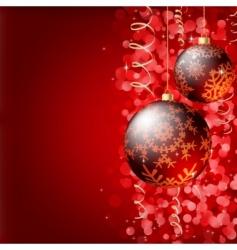 Christmas elegant background vector image