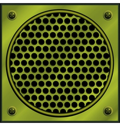metal plate vector image vector image