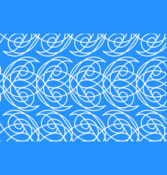 Seamless water pattern vector