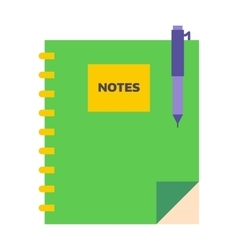 Planners notebook vector