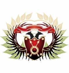 Old heraldic vector
