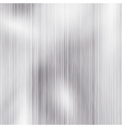 Brushed metal template background EPS 10 vector image