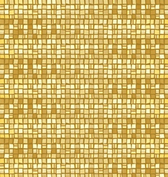 Gold mosaic vector