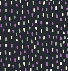 Abstract seamless dashed pattern vector
