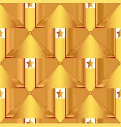 Creative gold frame vector
