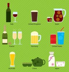 International beverages 001 vector