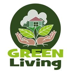 Living green vector