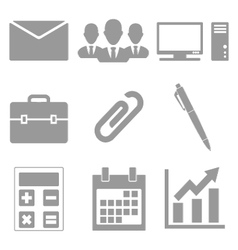 Office set vector