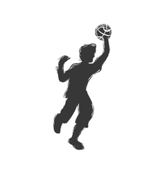 Player icon Basketball design graphic vector image