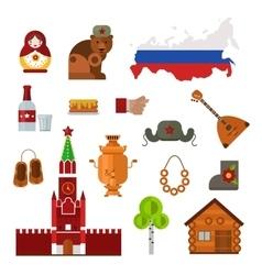 Russia set vector