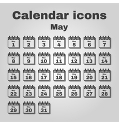 The calendar icon may symbol flat vector