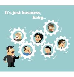 Business team concept vector