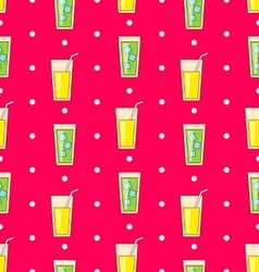 Colorful Seamless Pattern or Background vector image vector image