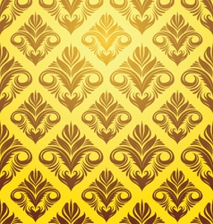 Gold yellow pattern vector