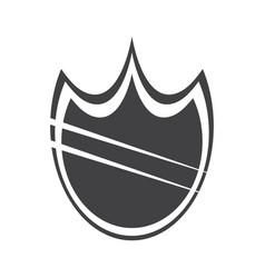 heraldry shield icon vector image