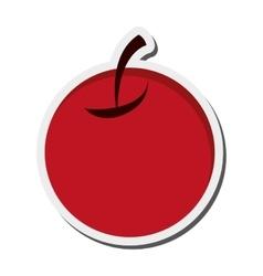 single cherry icon vector image