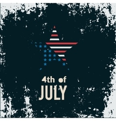 Happy 4th of july independence day creative vector