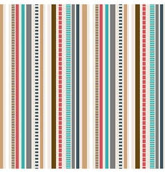 Stripes seamless pattern retro colors pattern vector