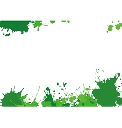 Background with green blothes vector
