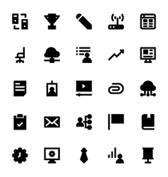 Web Design and Development Icons 5 vector image