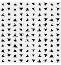 Pattern background triangle retro vintage design vector