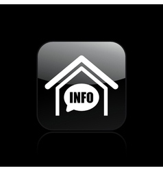 box info icon vector image