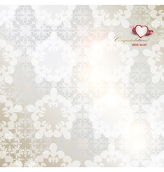 Elegant background with white repetitive elements vector