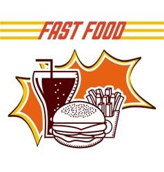 Food menu vector