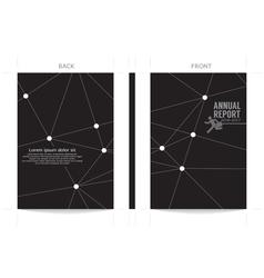 Modern design cover template vector