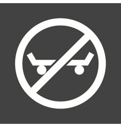 No Skating vector image vector image