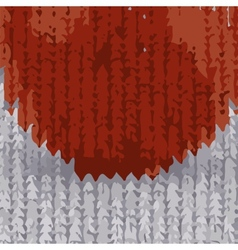 Abstract background pattern red tomato natural vector