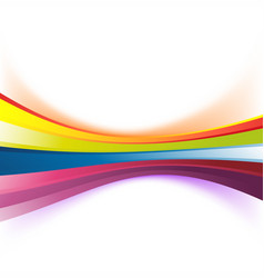 Colorful abstract rainbow stripe background vector