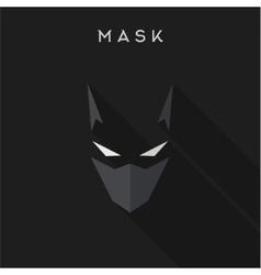 Hero superhero Mask flat style vector image