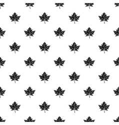 Autumn leaf pattern simple style vector