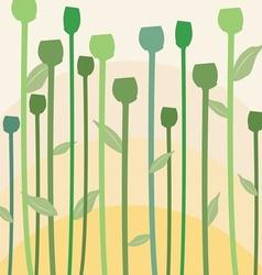 Flowergreen vector image