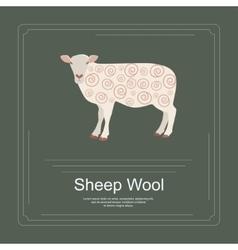 Logotype of sheep vector