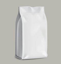 Food bag for design vector