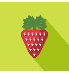 Strawberry icon vector
