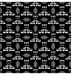 Seamless male pattern vector