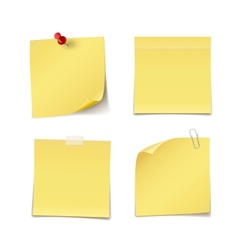 Adhesive Notes vector image