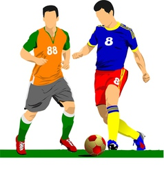 al 0919 soccer03 vector image vector image