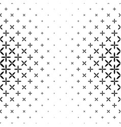 Black and white star pattern - background design vector