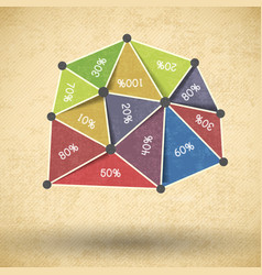 Business diagram design vector
