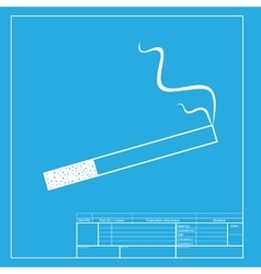 Smoke icon great for any use white section of vector