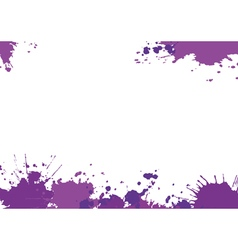 Background with purple blotces vector