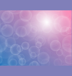 Bokeh texture on a two-tone blue-purple background vector