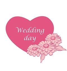 cinia wedding vector image vector image