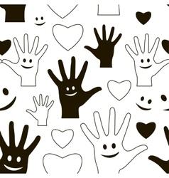 Friendship day pattern vector