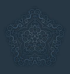 Vintage paper pattern vector